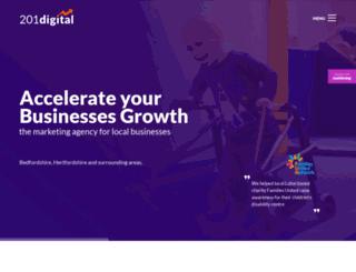 201digital.co.uk screenshot