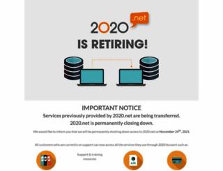 2020.net screenshot