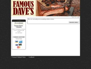 2040.famousdaves.com screenshot