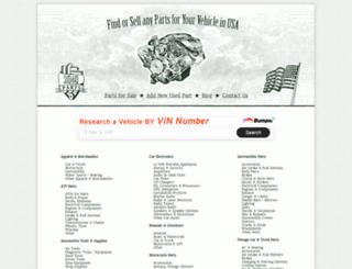 2040parts.com screenshot