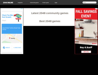 2048-online.com screenshot