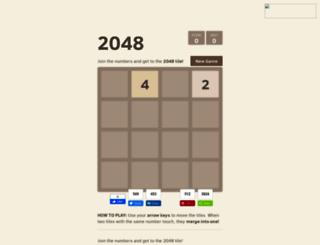 2048-puzzle.blogspot.com screenshot