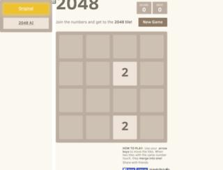 2048games.xyz screenshot