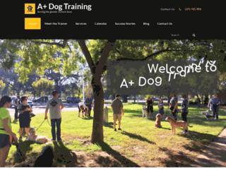 209dogtraining.com screenshot