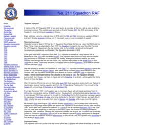 211squadron.org screenshot