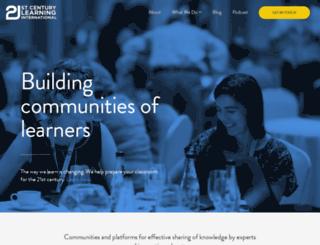 21c-learning.com screenshot