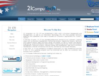 21computech.com screenshot