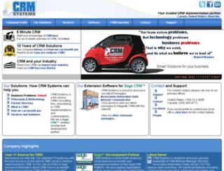 21crmsystems.com screenshot