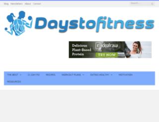 21daygetfit.com screenshot