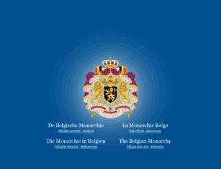 21juillet.monarchie.be screenshot
