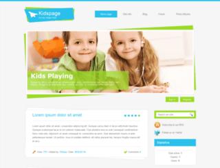 21kidspage.ucoz.com screenshot