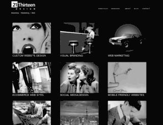 21thirteen.com screenshot