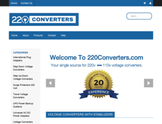 220converters.com screenshot
