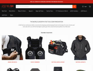 221btactical.com screenshot