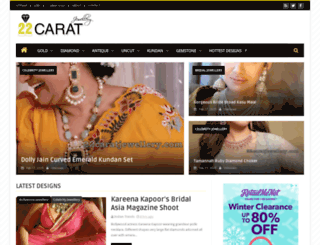 22caratjewellery.com screenshot