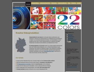 22colors.de screenshot