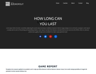 22dropout.com screenshot