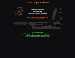 237computergurus.com screenshot