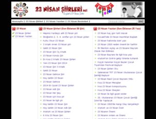 23nisansiirleri.net screenshot