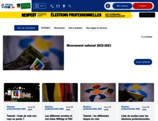 24.snuipp.fr screenshot