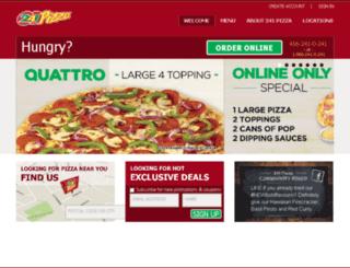241pizzaordering.com screenshot