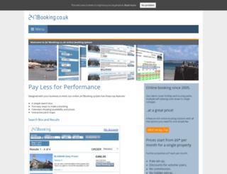 247booking.co.uk screenshot