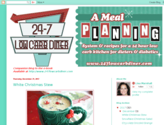 247lowcarbdiner.blogspot.com screenshot