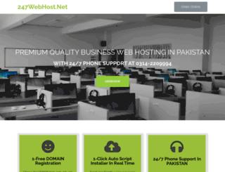 247webhost.net screenshot