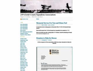 249squadron.wordpress.com screenshot