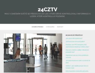 24cz-tv.cz screenshot