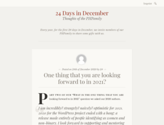24daysindecember.net screenshot