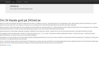 24gold.se screenshot