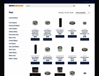24hourbatteries.com screenshot