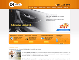 24hours-mobile-locksmith.com screenshot