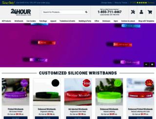 24hourwristbands.com screenshot