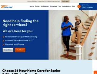24hrcares.com screenshot