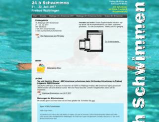 24hschwimmen.de screenshot