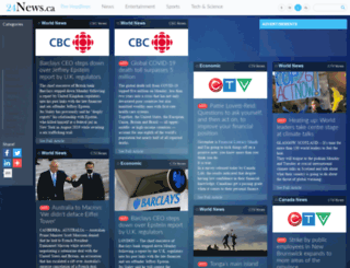 24news.ca screenshot
