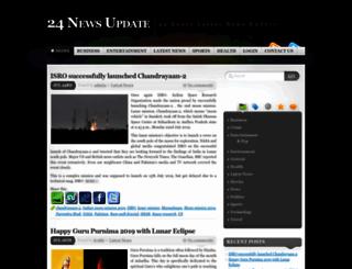 24newsupdate.com screenshot