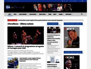 24orenews.it screenshot