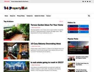 24propertyhall.com screenshot
