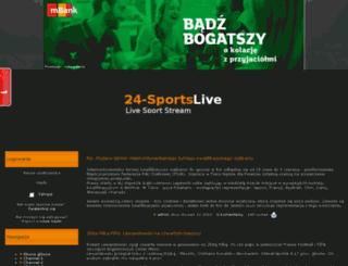 24sportslive.pl screenshot