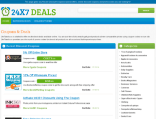 24x7deals.us screenshot