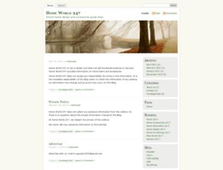 24x7home.wordpress.com screenshot