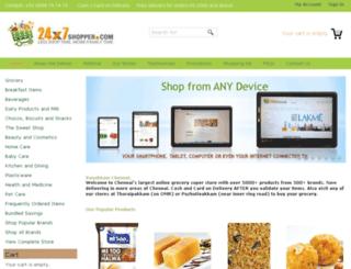 24x7shopper.com screenshot