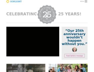 25.sonlight.com screenshot