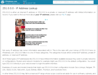 251.ipaddress.com screenshot