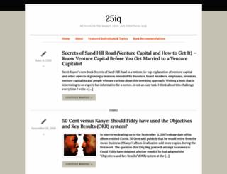 25iq.com screenshot