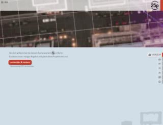 25p-berlin.de screenshot