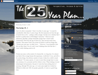 25yearplan.blogspot.com screenshot